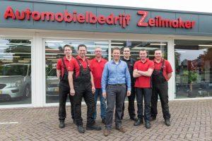 vlnr: Bastiaan Louwé, Ricardo Kartman, Paul Zeilmaker, Peter Zeilmaker, Benjamin Swiers, Mark Zeilmaker en Stan van Zon